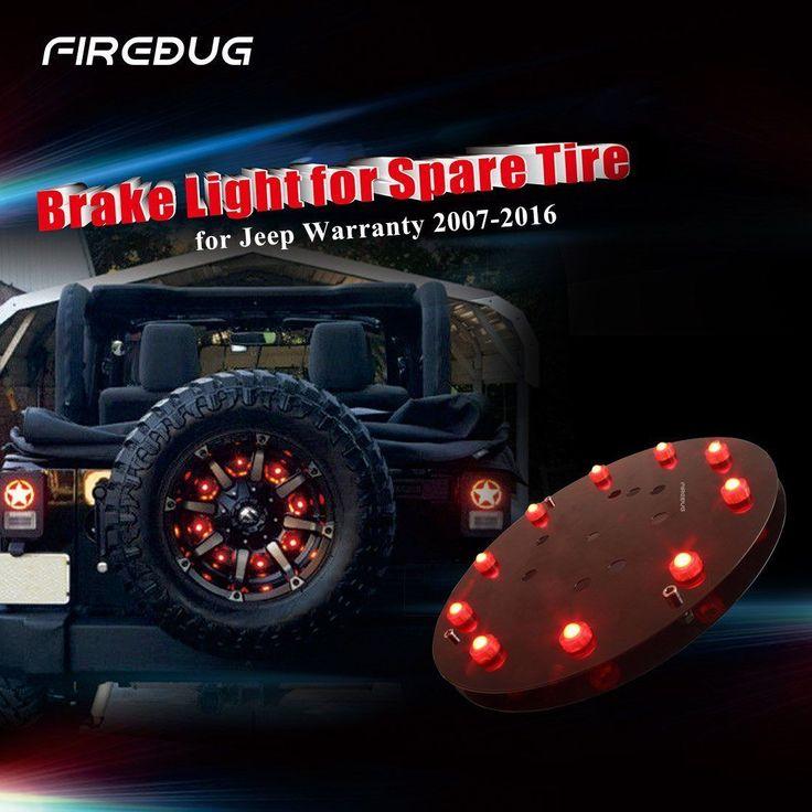 Firebug Jeep Wrangler 3rd Brake Light, Spare Tire LED Light, JEEP JK Accessories in eBay Motors, Parts & Accessories, Car & Truck Parts   eBay