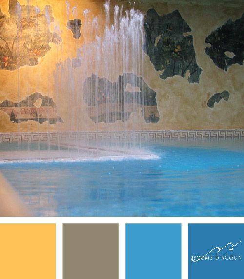 Zampilli d'Acqua Swimming pool | l'arch. Devis Rampazzo | Grand hotel Duchi d'Aosta, Trieste