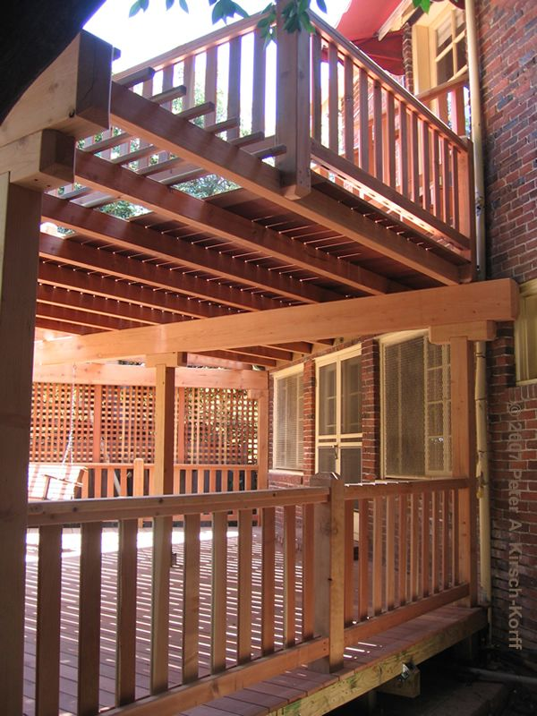 17 Best Images About Two Story Deck On Pinterest Sally