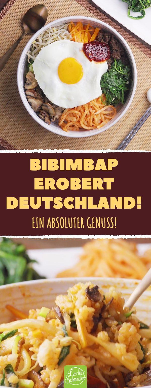 Bibimbap erobert Deutschland! Ein absoluter Genuss…