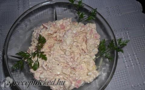 Hagymás párizsis (meleg)szendvicskrém recept fotóval