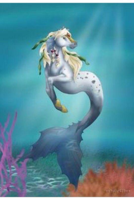 картинки лошадей с русалками