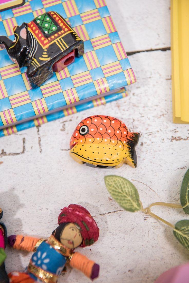 Fish Pencil Sharpener Supplier Info Background