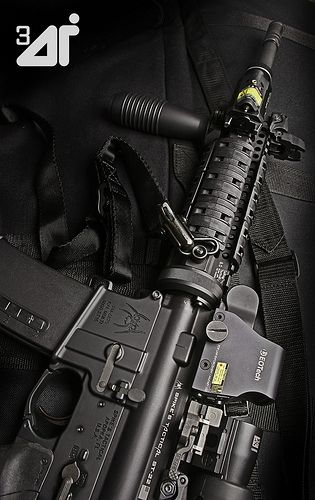 AR15 with EOTech XPS2 & G23