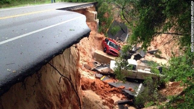 Rains too much even for weather-toughened Gulf Coast - CNN #Weather, #US