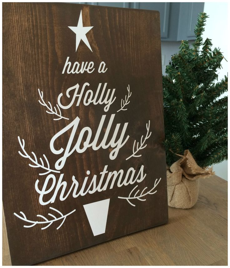 Christmas Sign Decorations: Best 25+ Christmas Wooden Signs Ideas On Pinterest