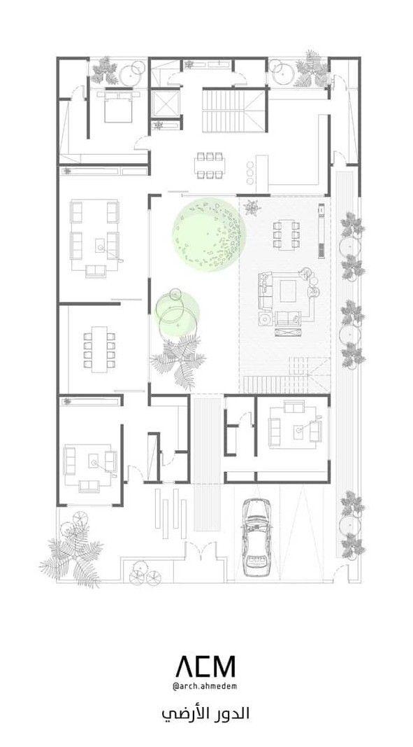 Pin By Abdulaziz Ali Alnemer On Villa Best Modern House Design Villa Plan Architectural House Plans