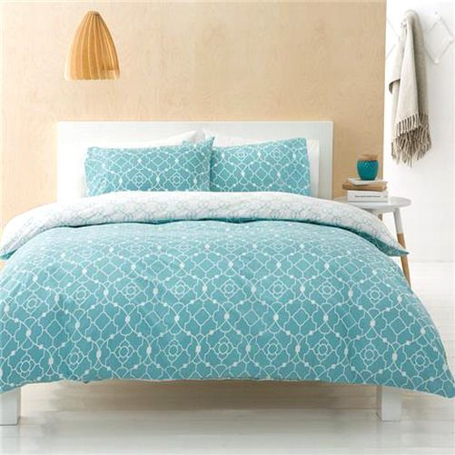 Stay warm and cosy during those chilly nights, and light and fresh during the coming Spring and Summer days with this modern, calming blue 'Teah' quilt cover set.  Available in Beautiful Bella's Boutique Online Store from today in sizes: Single, Double, Queen and King. Buy Now at: http://www.ebay.com.au/itm/-/181902264938?