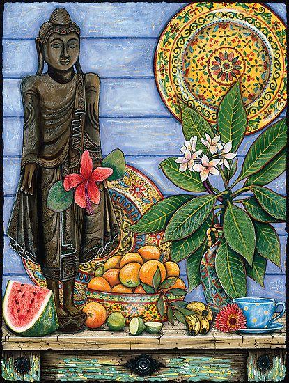 Burmese Buddha , Sarina Tomchin