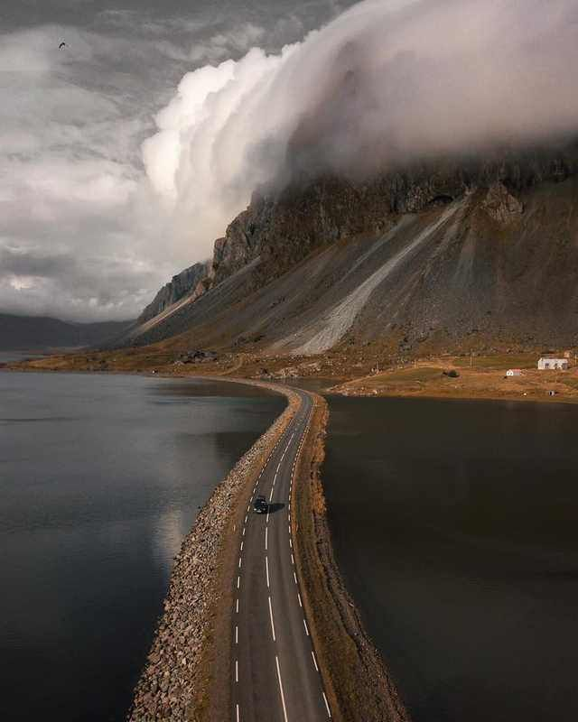 Iceland Photos, Beautiful Roads