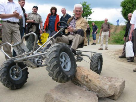 Pedal Powered Four Wheel Drive SUV Invented in Germany called a Trailcart #cycling via TreeHugger