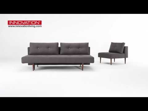 Special Recast Plus sofa bed with chairs - YouTube