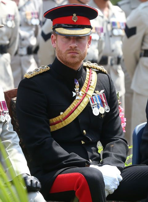 While Prince Harry embarked on a royal tour of Nepal, he dressed in uniform for a program at the martyrs' memorial at the British camp in Pokhara, about 200km west of Kathmandu.