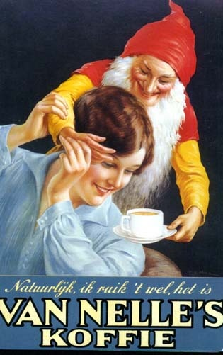 Old dutch Van Nelle`s koffie/coffee add