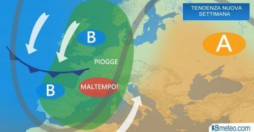 Clima: #METEO #ITALIA. #Maltempo al Nord Ovest nella nuova settimana mite per scirocco al Sud (link: http://ift.tt/2f8lLJK )
