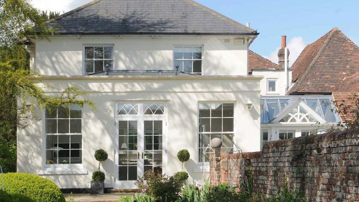 Traditional stone built orangery front view