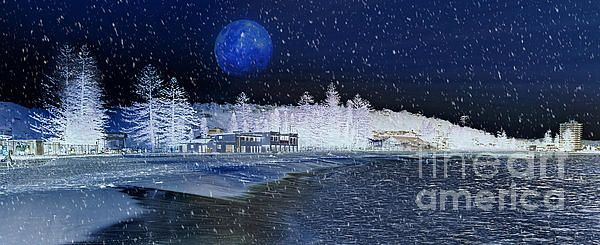 #SNOWING AT #SYDNEY #BEACH #Snow #Photography Quality Prints and Cards at: http://kaye-menner.artistwebsites.com/featured/snowing-at-sydney-beach-kaye-menner.html