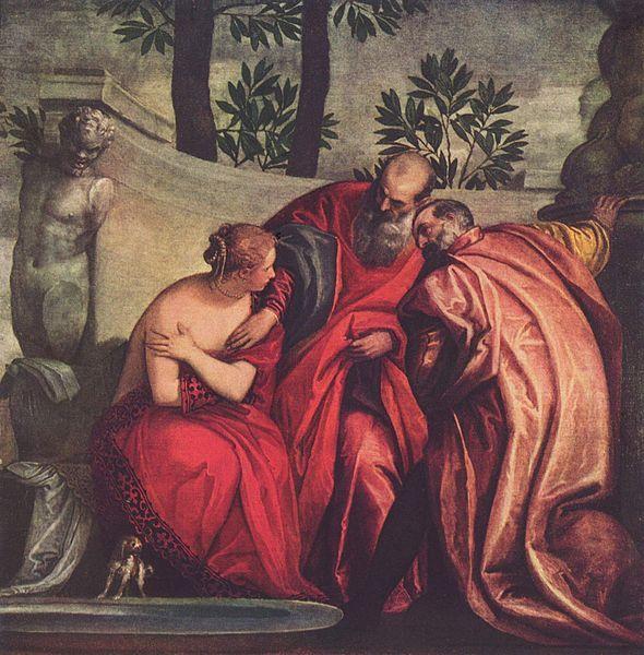 Paolo Veronese Suzanne et les vieillards