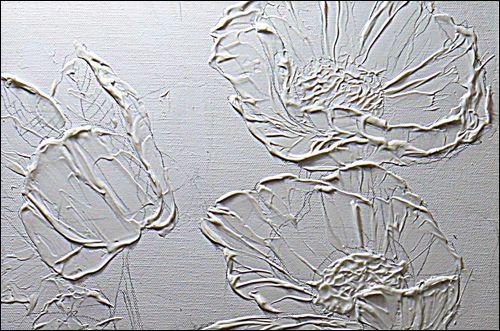 Cómo Darle textura a la pintura acrílica