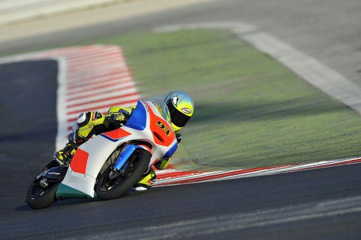 Michael Coletti Test Misano 2015