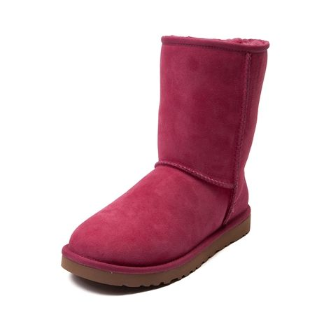 shop for womens ugg classic short boot in pink at journeys
