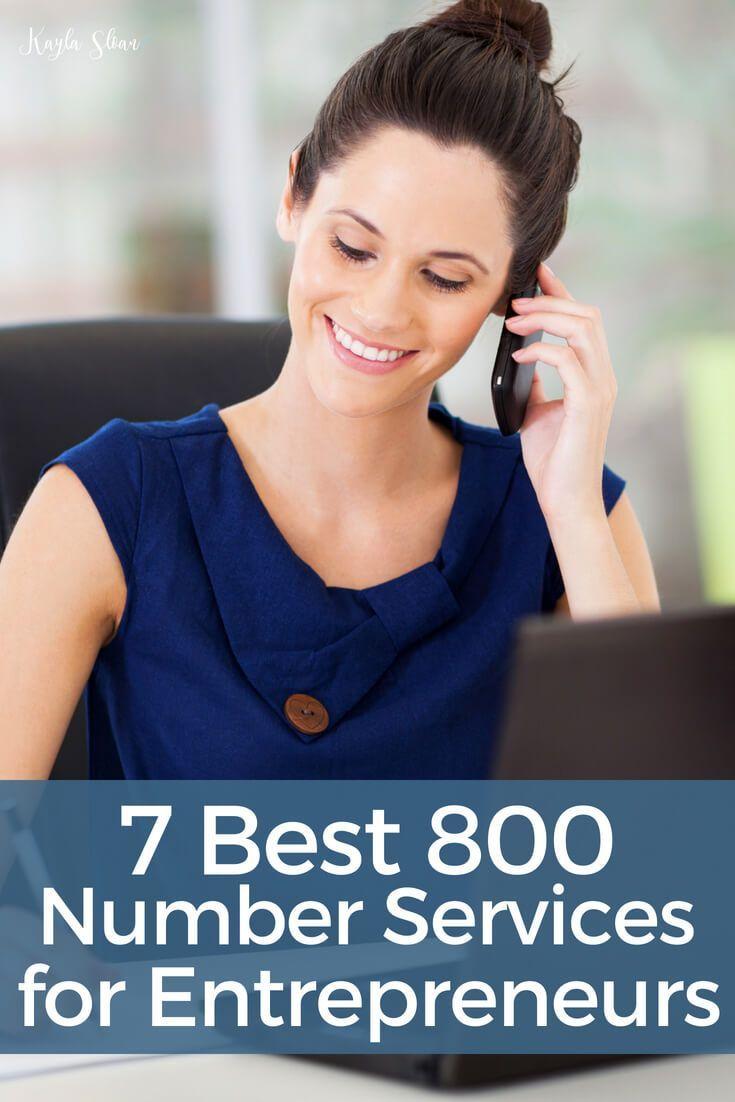 7 Best 800 Number Services For Entrepreneurs Entrepreneur
