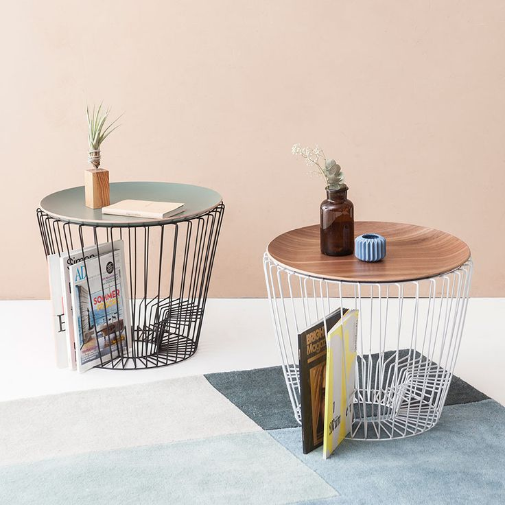 Side Tables With Fascinating Forms By ComingB #MONOQI #madeinfrance