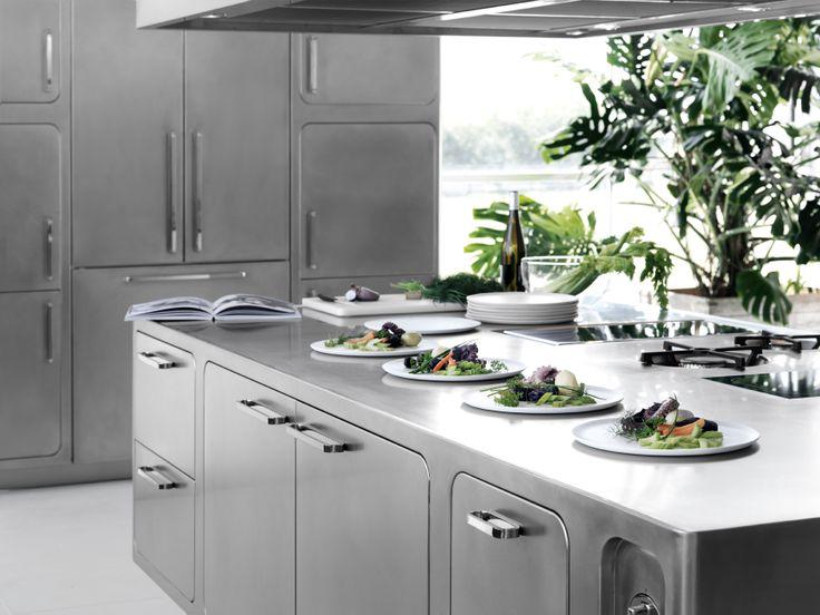 die 8 besten bilder zu abimis kitchens auf pinterest | edelstahl, Möbel
