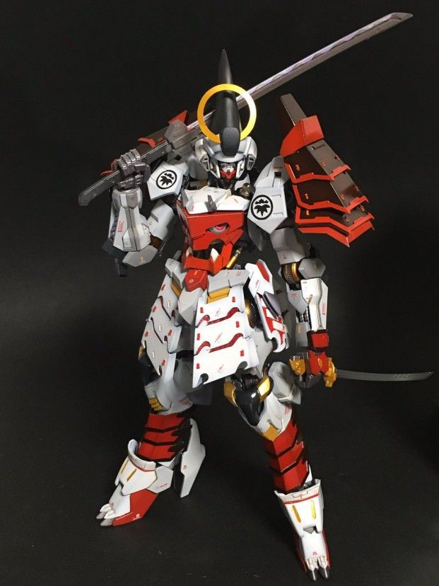 POINTNET.COM.HK - 改裝作品 1/100 義経Gundam Barbatos 新圖流出