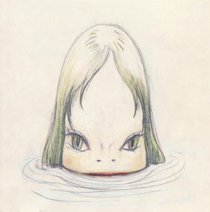 Yoshitomo Nara 2005 Bloodthirsty Butchers vs Plus/Minus (+/-) - Split〈嗜血屠夫&加減樂隊 - 互敬翻唱專輯〉[Columbia COCP-50849] #albumcover #奈良美智