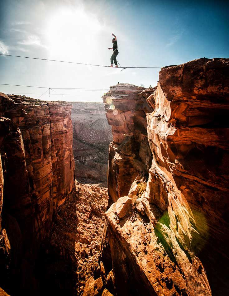 Siempre puedes dominar las situaciones de riesgo. ;)