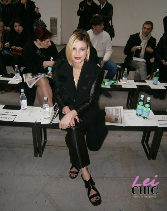 Emma Marrone alla Costume National Homme http://www.leichic.it/donna-vip/emma-marrone-splendida-alla-sfilata-di-costume-national-homme-28979.html