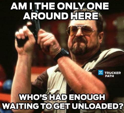 Try Trucker Path Today! Funny Trucker Memes Semi truck humor www.truckerpath.com #meme #trucks #trucker #bigrig #Humor