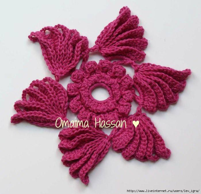 108 best crochet irish crochet images on pinterest irish another 6 point flower manos bizzy collection dt1010fo