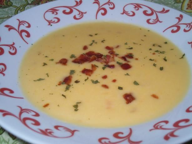 Wisconsin Cheese Soup. Photo by AZPARZYCH