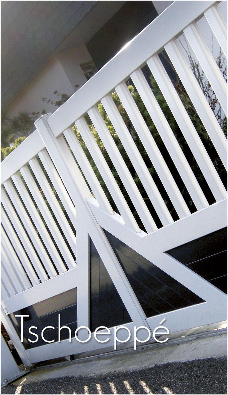 17 meilleures id es propos de portail alu sur pinterest. Black Bedroom Furniture Sets. Home Design Ideas