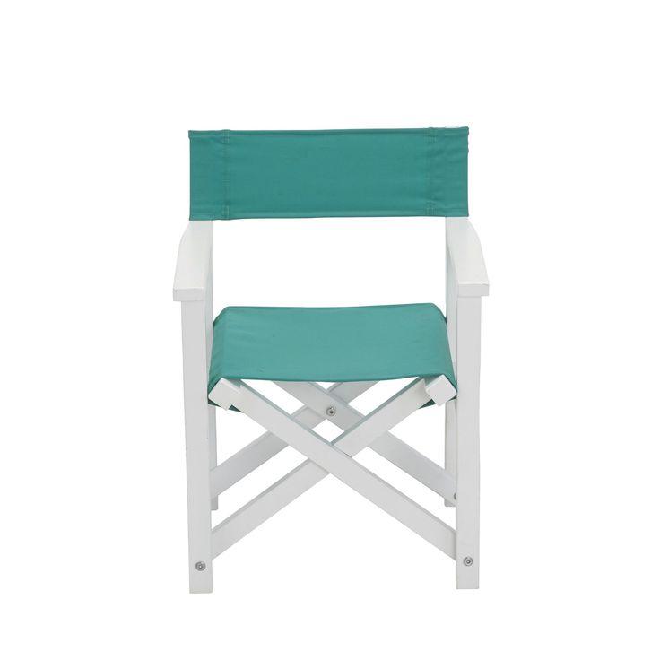 Chaise de casting pliable pour enfant verte Blanc et vert - Maya Enfant - Le mobilier de jardin pour enfant - Meubles de jardin - Tous les meubles - Décoration d'intérieur - Alinéa