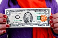 $2 bills with tiger paws? Another great Clemson tradition. Go CLEMSON!