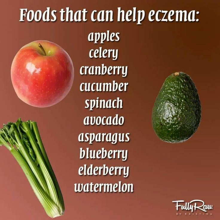 """10 Foods That Can Help With Eczema : Found this interesting food list on Pinterest, featuring ten foods that are said to help with eczema. What isEczema ? Eczema is a broad medical term for a group of conditions said to cause the skin to become inflamed or irritated. """"The most common type of eczema […]"""