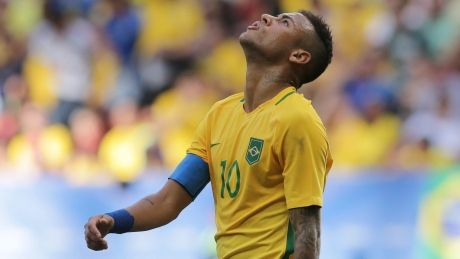 Brazil's soccer team jeered after disappointing Olympic debut
