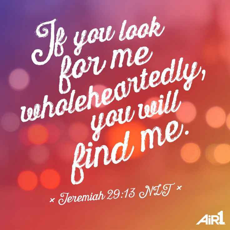 jeremiah 29 13 and 14 dating