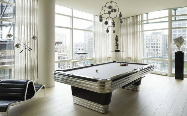 A Lovely Library. 16 Bold Billiards Rooms You Won't Want to Leave
