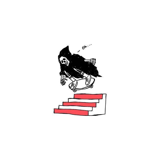 Illustration by Randyadhitia #skate #fun