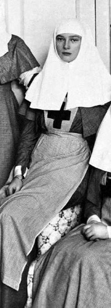 Tatiana as a nurse in WWI