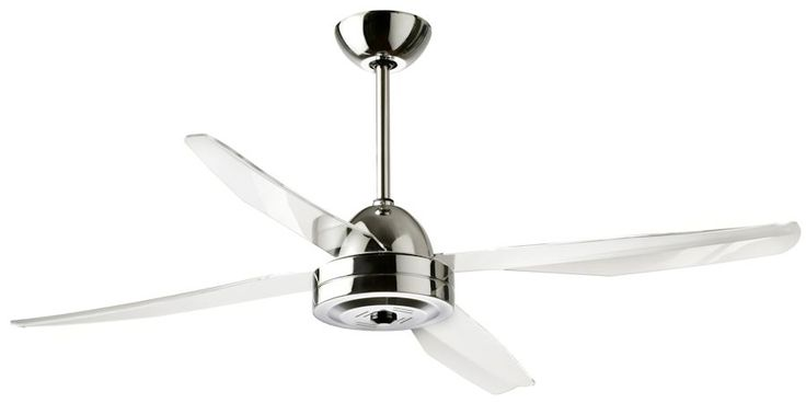 Libellula 130 ventilatore 4 pale color grigio ventilatore - Pale da soffitto design ...