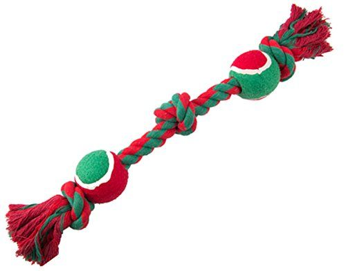 Christmas puppy teething toys Rope Chew for Medium Dogs Tug of War - http://www.bunnybits.org/christmas-puppy-teething-toys-rope-chew-for-medium-dogs-tug-of-war/