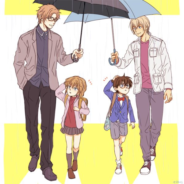 Umbrella. I wish they could all be friends with each other.