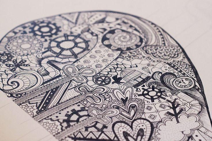 Pointe Blank - Coppélia - Claire Hartley | Freelance Graphic Designer & Illustrator, Birmingham