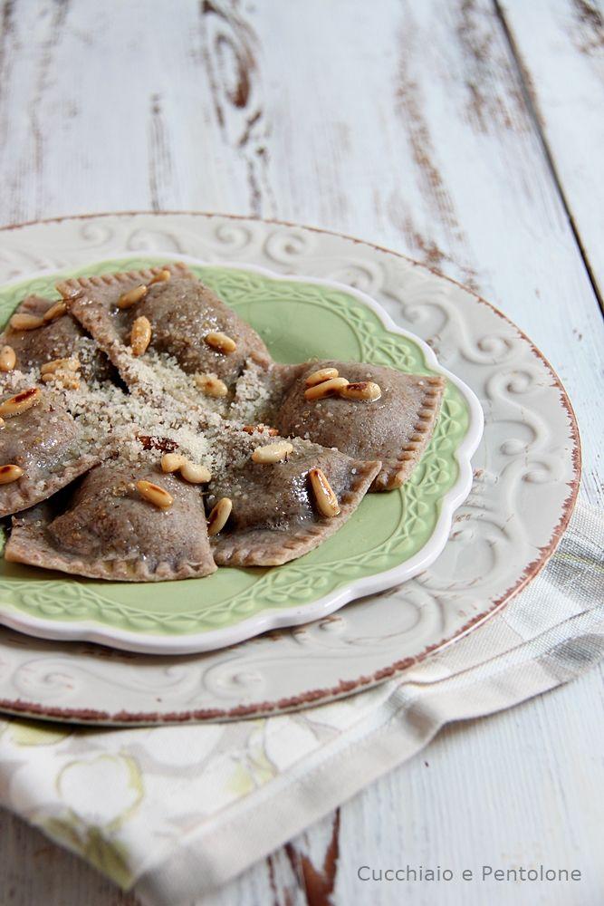 tortelli integrali ai carciofi