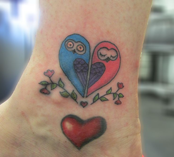 two owls owl tatooooos